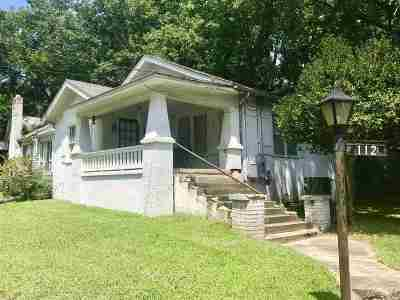Hot Springs Single Family Home For Sale: 112 Holly