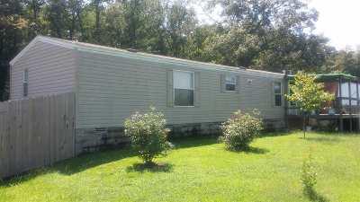 Hot Springs Single Family Home For Sale: 604 Elkhorn Loop
