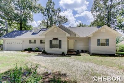 Hot Springs Single Family Home For Sale: 194 Peppermint Terr