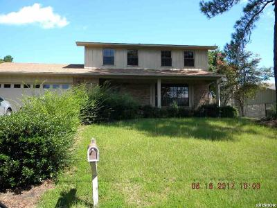 Hot Springs Single Family Home Active - Contingent: 302 Ridgeview
