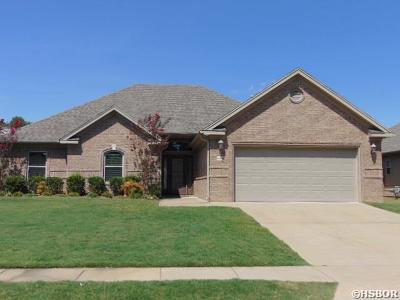 Benton Single Family Home Active - Contingent: 1653 White Oak Cir