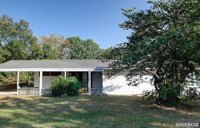 Hot Springs Single Family Home For Sale: 1321 Lakeshore