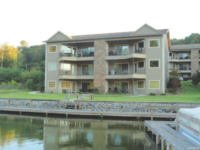 Garland County Condo/Townhouse For Sale: 640 Arkridge Rd #H 1