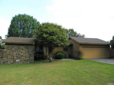 Hot Springs Single Family Home For Sale: 107 Fairway Ct