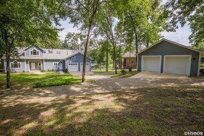 Hot Springs Single Family Home For Sale: 56 Stonegate Shores Dr