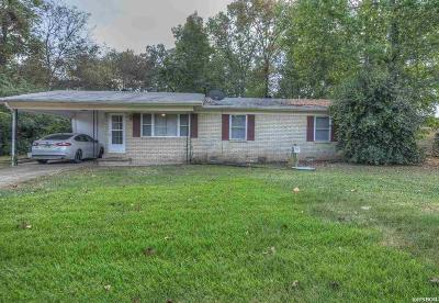 Hot Springs Single Family Home Active - Contingent: 115 Douglas Dr