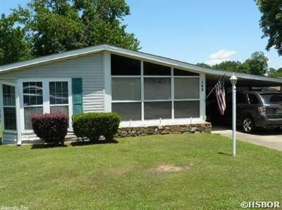 Hot Springs Single Family Home For Sale: 103 Valiant St