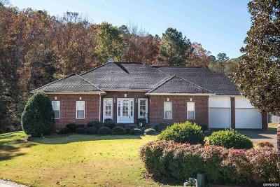 Hot Springs Single Family Home For Sale: 102 Raintree Ct