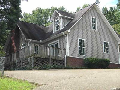 Hot Springs Single Family Home Active - Contingent: 210 Little Hollow Tr