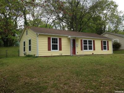 Benton Single Family Home For Sale: 702 Sunset