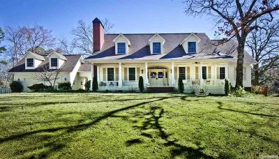 Hot Springs Single Family Home For Sale: 489 Clearcreek Rd.