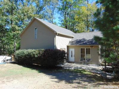 Hot Springs Single Family Home For Sale: 169 Wampum Circle