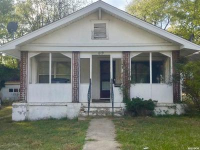 Hot Springs Single Family Home Active - Contingent: 619 Fourth St