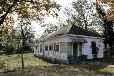Hot Springs Single Family Home For Sale: 1307 W Grand Avenue