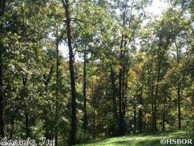 Hot Springs AR Residential Lots & Land For Sale: $15,000