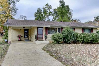 Hot Springs Single Family Home For Sale: 113 View Point Circle