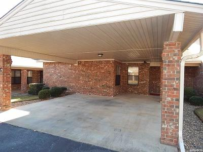 Garland County Condo/Townhouse For Sale: 124 Corporate Terr #9C