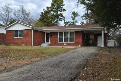 Hot Springs AR Single Family Home Sold: $97,000
