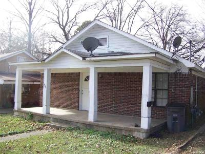 Hot Springs Single Family Home For Sale: 704 Third St