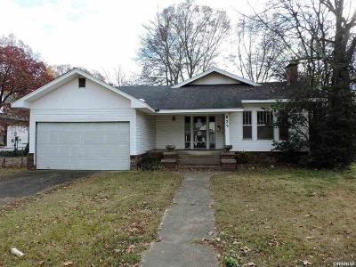 Bismarck, Fountain Lake, Glenwood, Hot Springs Village, Magnet Cove, Malvern Single Family Home For Sale: 623 Pine Bluff St.