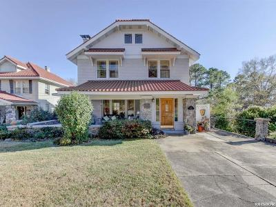 Hot Springs Single Family Home For Sale: 719 Prospect Ave
