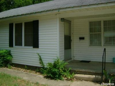 Hot Springs AR Single Family Home For Sale: $32,000