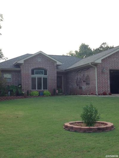 Hot Springs Single Family Home Active - Contingent: 109 Golden Eye Court