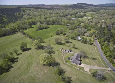 Bonnerdale Single Family Home For Sale: 1411 Caddo Gap Rd
