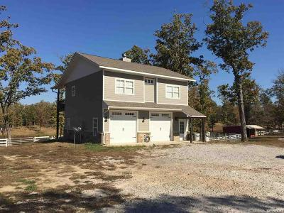 Hot Springs Single Family Home For Sale: 209 Morland Ct #18 Acres