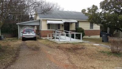 Hot Springs Single Family Home For Sale: 1030 Third St