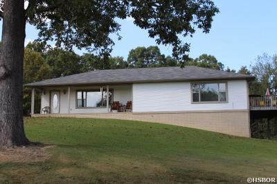 Hot Springs Single Family Home Active - Contingent: 238 E East Sheets Trail