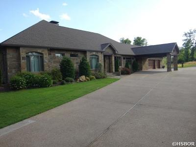 Hot Springs Single Family Home For Sale: 899 Rock Creek Road