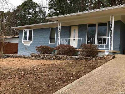 Hot Springs AR Single Family Home For Sale: $116,000