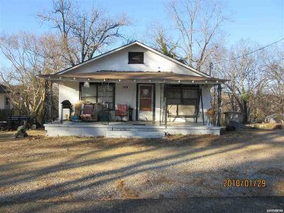 Hot Springs AR Single Family Home For Sale: $22,000