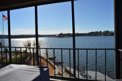 Hot Springs, Hot Springs Village, Malvern, Pearcy, Royal, Benton Condo/Townhouse For Sale: 1201 Lakeshore Drive #22