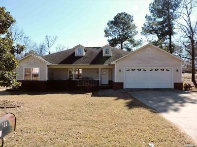 Hot Springs Single Family Home For Sale: 100 Chiffon Lane