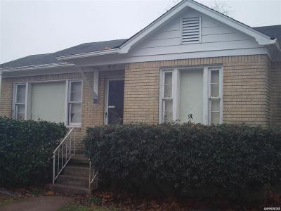 Hot Springs Single Family Home For Sale: 314 Ward St