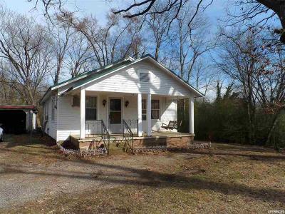 Hot Springs AR Single Family Home For Sale: $54,900