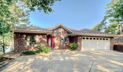 Hot Springs Single Family Home For Sale: 90 Cliff Loop