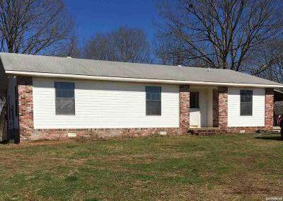 Pearcy Single Family Home For Sale: 427 Rockhouse Rd