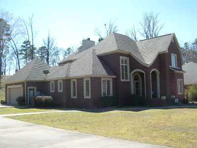 Garland County Single Family Home For Sale: 107 St. Thomas Cove