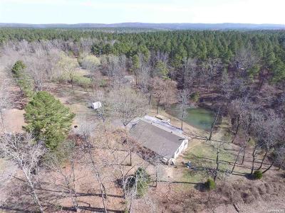 Bismarck, Fountain Lake, Glenwood, Hot Springs Village, Magnet Cove, Malvern Single Family Home Active - Contingent: 750 Deer Creek