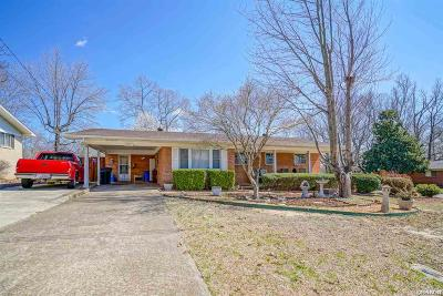 Hot Springs Single Family Home For Sale: 121 Sunset