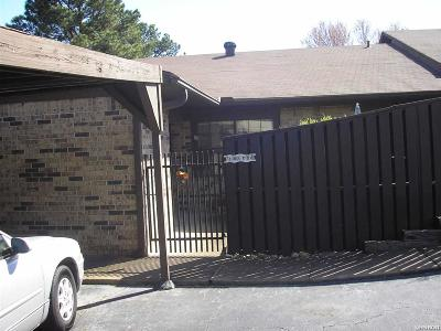 Hot Springs AR Condo/Townhouse For Sale: $85,000