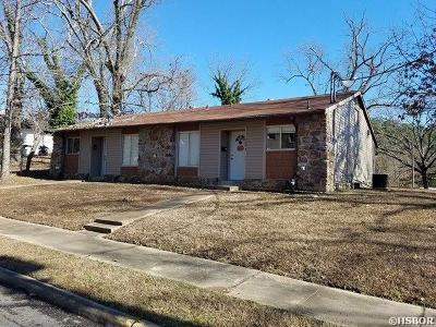 Hot Springs AR Multi Family Home Active - Contingent: $84,500