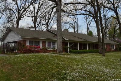 Hot Springs Single Family Home For Sale: 123 Parkridge