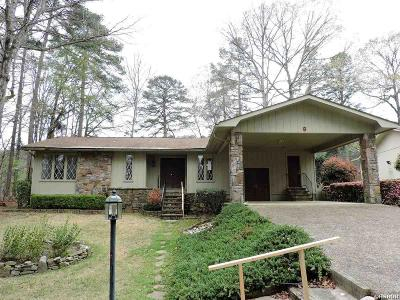 Hot Springs AR Single Family Home For Sale: $130,000