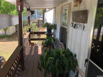 Hot Springs Single Family Home For Sale: 166 & 170 Cenark