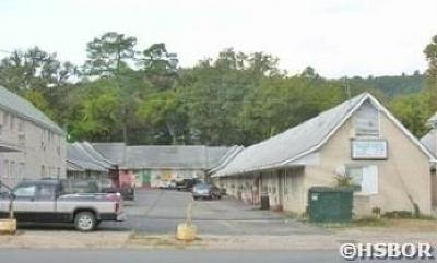 Hot Springs Commercial For Sale: 642 Ouachita Ave