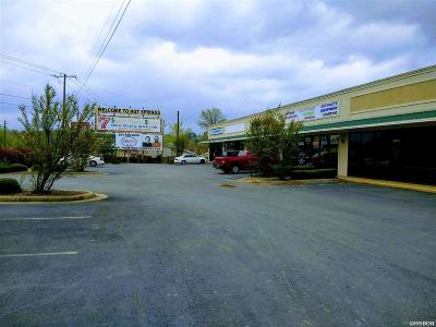 Hot Springs Commercial For Sale: 5737 Central Avenue